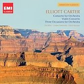 EMI American Classics - Elliot Carter / Ole B&ouml;hn, Oliver Knussen, London Sinfonetta, et al
