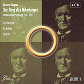 Wagner: Der Ring des Nibelungen - Historical Recordings 1926-1932 Vol 1 / Barbirolli, et al