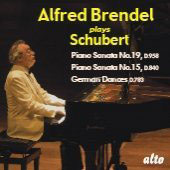 Schubert: Piano Sonata no 15, 19, & 16 German Dances / Alfred Brendel