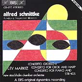 Schnittke: 3 Concertos / Markiz, New Stockholm CO