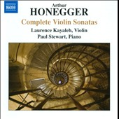 Arthur Honegger: Complete Violin Sonatas