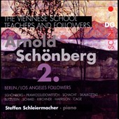 The Viennese School: Teachers & Followers of Schoenberg, Vol. 2