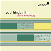 Paul Hindemith: Pl&#246;ner Musiktag