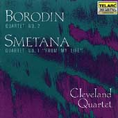 Classics - Borodin, Smetana: String Quartets / Cleveland