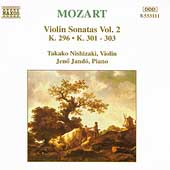 Mozart: Violin Sonatas Vol 2 / Takako Nishizaki, Jen&ouml; Jand&oacute;
