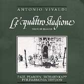 Vivaldi: Le quattro stagione / Peabody, Kapp, Philharmonia