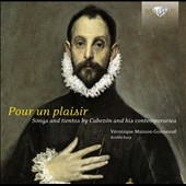 Pour Un Plaisir: Songs and Tientos by Cabezon and His Contemporaries / Véronique Musson-Gonneaud, Renaissance double harp