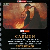 Bizet: Carmen / Rise Stevens, Jan Peerce, Robert Merrill, Licia Albanese