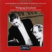 Lieder Recital - Salzburg 1975 / Fischer-Dieskau, Sawallisch