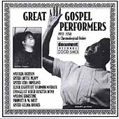 Various Artists: Great Gospel Performers (1937-50)