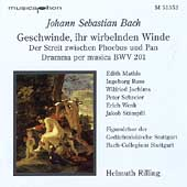 Bach: Geschwinde ihr wirbelnden Winde / Rilling, et al