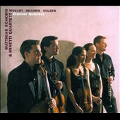 Mozart, Brahms, Sulzer: Clarinet Quintets / Matthias Schorn: clarinet; Minetti Quartet