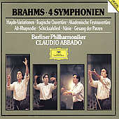 Brahms: The Four Symphonies / Abbado, Berlin Philharmonic