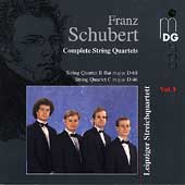 Schubert: Complete String Quartets Vol 8 / Leipzig Quartet