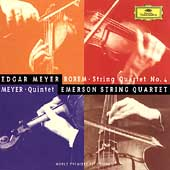 Meyer: Quintet;  Rorem: Quartet no 4 /Emerson String Quartet