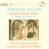 Tallis: Sacred Choral Works / Christophers, The Sixteen