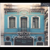 Creole Connections - works for piano by Nazareth, Gottschalk, Piazolla, Isbitz, Cervantes, Lecuona, Belasco / Morten Gunnar Larsen, piano