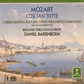 Mozart: Cos&igrave; fan Tutte / Barenboim, Cuberli, Bartoli