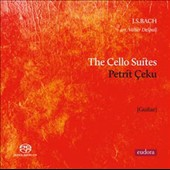 J.S. Bach: Cello Suites arranged for guitar / Petrit Ceku, guitar