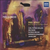 Piano Celebration, Vol. 2' - Paul Reade (1943-1997): Works for 2 Pianos and Piano 4 Hands / Carl Patrick Bolleia; Min Kwon; Patricio Molina; Enroqueta Somarriba; Jiayan Sun, Piano