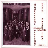 Palestrina, Byrd: Masses, Motets / Mansson, Hagstern Choir