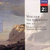 Nielsen: Symphonies no 4-6 / Blomstedt, San Francisco PO