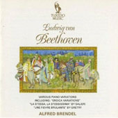 Beethoven: Variations for Piano solo / Alfred Brendel