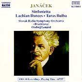Janacek: Sinfonietta, Lachian Dances, Taras Bulba / Len&aacute;rd