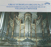Great European Organs Vol 27 / Graham Barber
