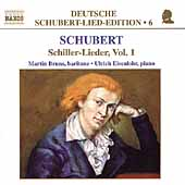 Deutsche Schubert-Lied-Edition 6 - Schiller-Lieder Vol 1