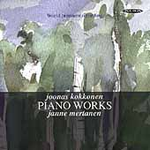 Kokkonen: Piano Works / Janne Mertanen