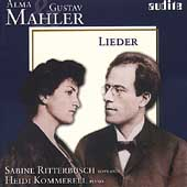 A. Mahler, G. Mahler: Lieder / Ritterbusch, Kommerell