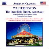 American Classics - Piston: The Incredible Flutist, etc