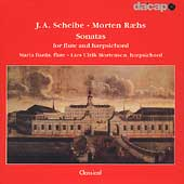 Scheibe, Raehs: Flute Sonatas / Maria Bania, L.U. Mortensen