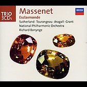 Trio - Massenet: Esclarmonde / Bonynge, Sutherland, Aragall