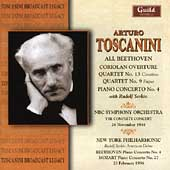 Toscanini conducts Beethoven and Mozart