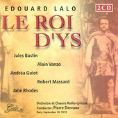 Lalo: Le Roi d'Ys, etc / Dervaux, Vanzo, Guiot, et al
