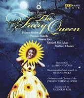 Henry Purcell: The Fairy Queen / Thomas Randle, Yvonne Kenny, Richard Van Allan, Simon Rice, Michael Chance. English Nat'l Opera, Kok [Blu-ray]