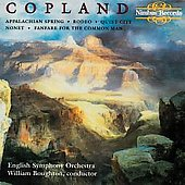 Copland: Appalachian Spring, etc / Boughton, English SO