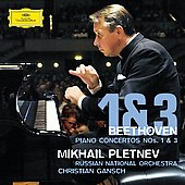 Beethoven: Concertos for Piano no 1 & 3 / Pletnev, Gansch, et al
