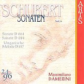 Schubert: Sonaten Vol 4 / Massimiliano Damerini