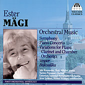 M&auml;gi: Orchestral Music / Volmer, K&uuml;tson, Estonian National