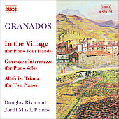 Granados: Piano Music, Vol 10 - In the Village, etc