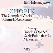Chopin: The Complete Works Vol 1 / Ian Hobson