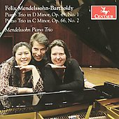 Mendelssohn: Piano Trio 1 & 2 / Chang, Sirotin, Thompson