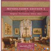 Mendelssohn: Keyboard & Chamber Works