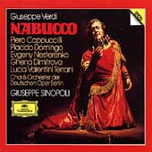 Verdi: Nabucco / Sinopoli, Cappuccilli, Domingo, et al