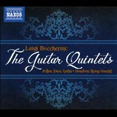 Boccherini: The Guitar Quintets / Danubius String Qrt., Tokos, guitar