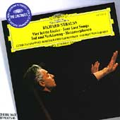 Strauss: Four Last Songs, etc / Karajan, Janowitz, Berlin PO