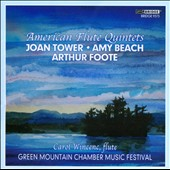 Rising: Music for Flute and Strings by Arthur Foote; Amy Beach and Joan Tower / Wincenc, Lawrence, Stuart, Browne, Whitehouse